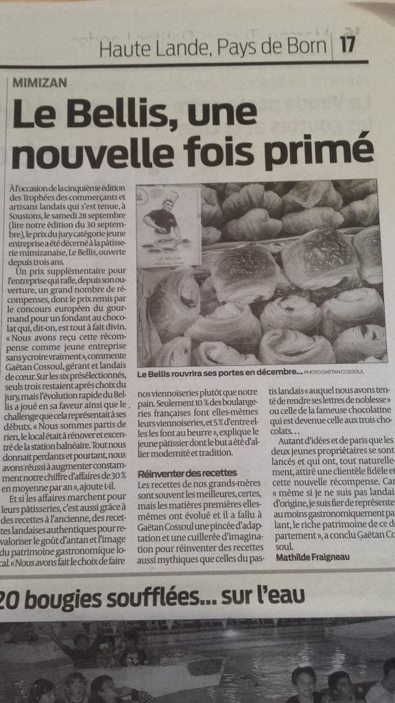 Article Sud Ouest Oct2013