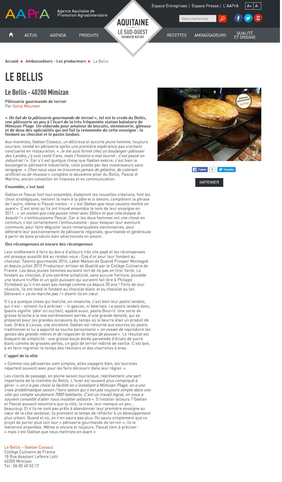Article aapra