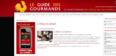 Guidedes gourmands